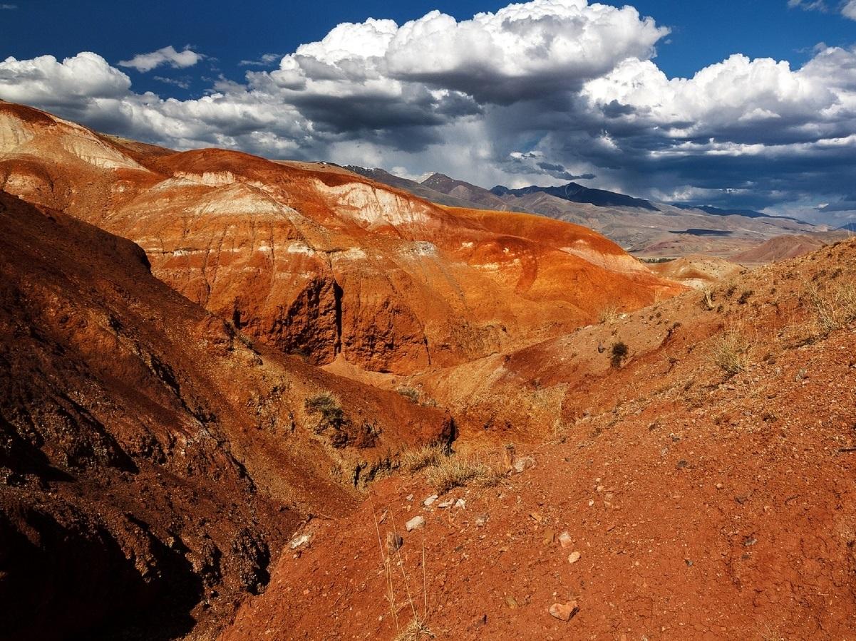 День 2 - Путешествие на «Марс» /авто 160 км, пешком ~7 км туда-обратно/
