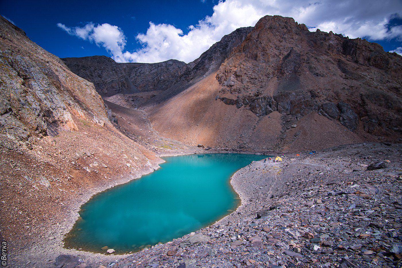День 4 - Ледник Большой Актру и Голубое озеро /12 км, 7-8 часов/